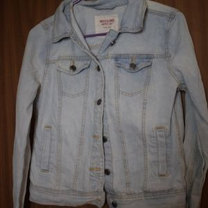 Mossimo Light Denim Jacket Size M